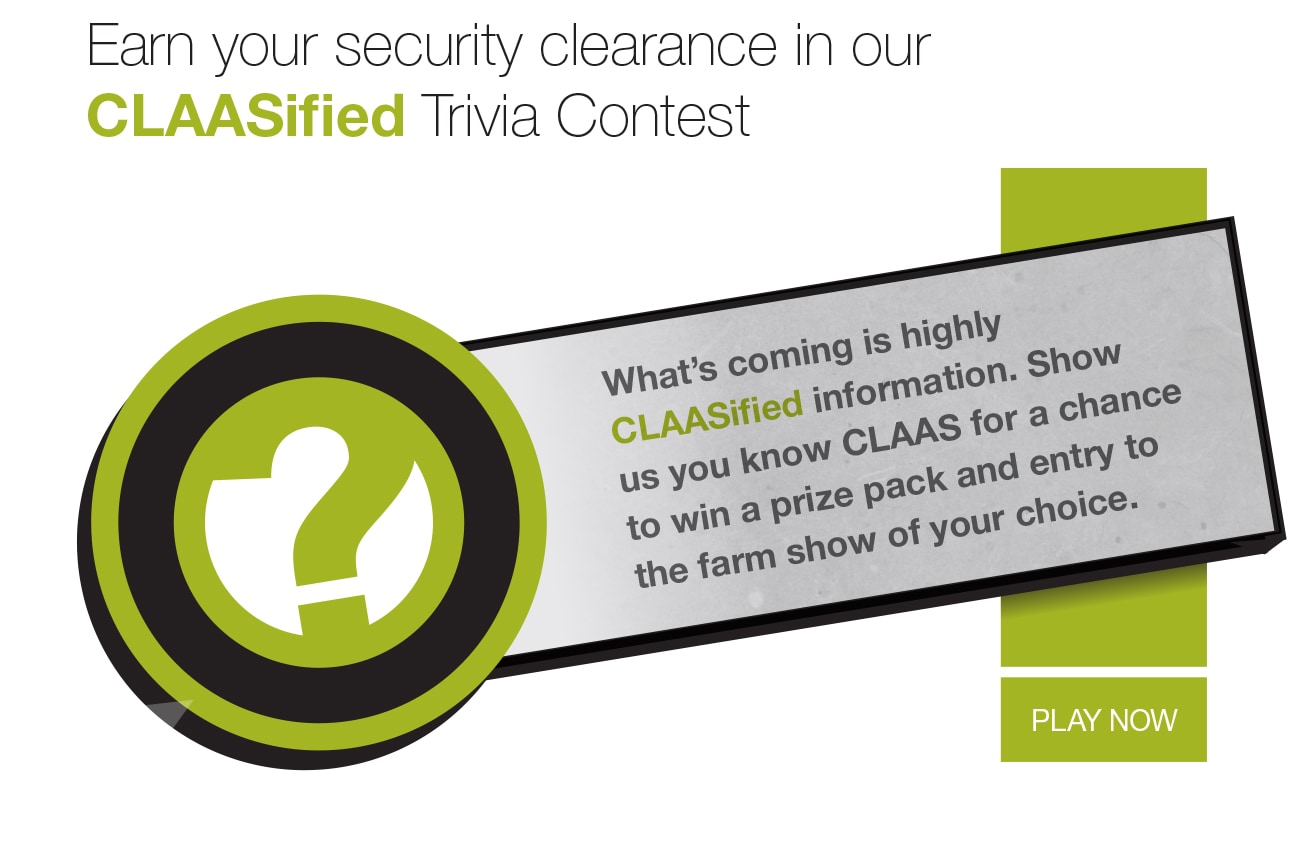 CLAASified trivia contest